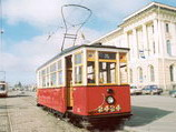 МС. Ретро - трамвай. Аренда трамвая в Санкт-Петербурге. Аренда трамвая в Москве. Организация праздников в трамвае.