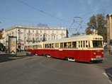 ЛМ-47. Ретро - трамвай. Аренда трамвая в Санкт-Петербурге. Аренда трамвая в Москве. Организация праздников в трамвае.