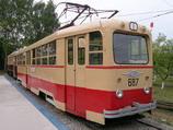 ЛМ-49. Ретро - трамвай. Аренда трамвая в Санкт-Петербурге. Аренда трамвая в Москве. Организация праздников в трамвае.