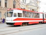 Трамвай ЛВС-97. Аренда трамвая в Санкт-Петербурге. Аренда трамвая в Москве. Организация праздников в трамвае.